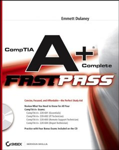 CompTIA A+ Complete Fast Pass (Paperback)-cover