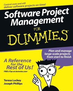 Software Project Management For Dummies (Paperback)-cover