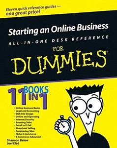 Starting an Online Business All-in-One Desk Reference For Dummies (Paperback)-cover