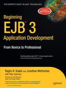 Beginning EJB 3 Application Development: From Novice to Professional-cover