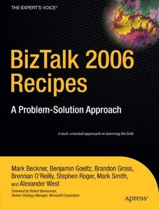 BizTalk 2006 Recipes: A Problem-Solution Approach (Paperback)-cover