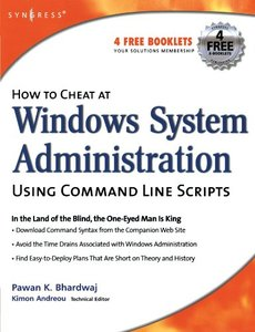 How to Cheat at Windows System Administration Using Command Line Scripts-cover