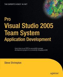 Pro Visual Studio 2005 Team System: Application Design-cover