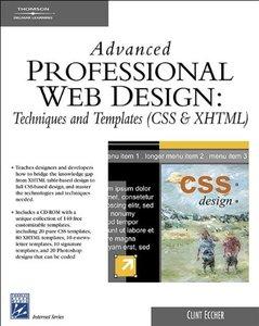 Advanced Professional Web Design: Techniques & Templates-cover