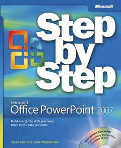 Microsoft Office PowerPoint 2007 Step by Step (Paperback)-cover