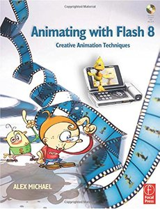 Animating with Flash 8: Creative Animation Techniques-cover