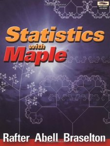 Statistics with Maple (Paperback)-cover
