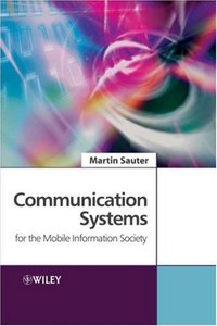Communication Systems for the Mobile Information Society (Hardcover)-cover