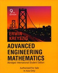 Advanced Engineering Mathematics, 9/e(Abridged International Student Edition)-cover