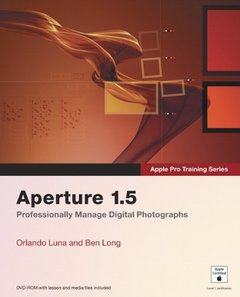 Apple Pro Training Series: Aperture 1.5-cover