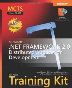 MCTS Self-Paced Training Kit (Exam 70-529): Microsoft .NET Framework 2.0 Distributed Application Development-cover