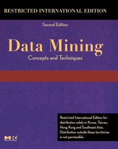 Data Mining: Concepts and Techniques, 2/e (IE-Paperback)-cover
