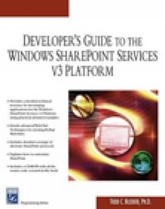 Developer's Guide to the Windows SharePoint Services v3 Platform (Paperback)-cover