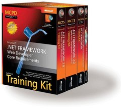 MCPD Self-Paced Training Kit (Exams 70-536, 70-528, 70-547): Microsoft .NET Framework Web Developer Core Requirements-cover