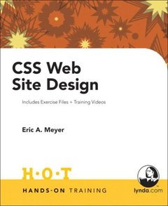 CSS Web Site Design Hands on Training-cover