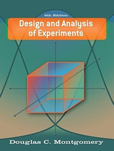 Design and Analysis of Experiments, 6/e-cover