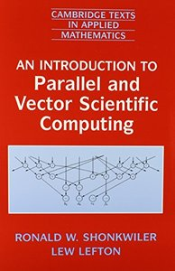 An Introduction to Parallel and Vector Scientific Computation-cover