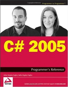 C# 2005 Programmer's Reference (Paperback)-cover