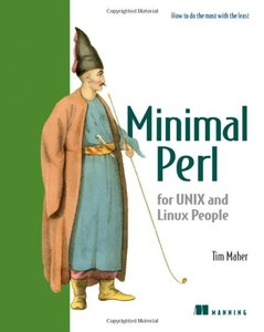 Minimal Perl: For UNIX and Linux People-cover