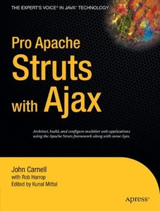 Pro Apache Struts with Ajax (Paperback)-cover