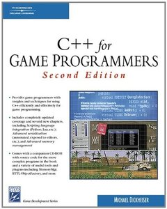 C++ For Game Programmers, 2/e (Paperback)-cover