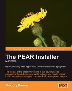 The PEAR Installer Manifesto-cover