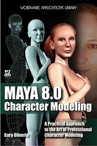 Maya 8 Character Modeling-cover