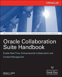 Oracle Collaboration Suite Handbook (Paperback)-cover