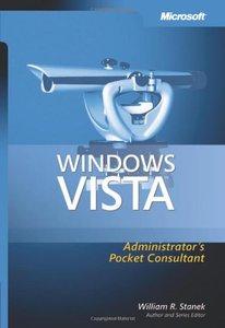 Windows Vista Administrator's Pocket Consultant (Paperback)-cover