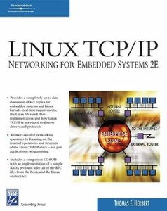 Linux TCP/IP Networking for Embedded Systems, 2/e (Paperback)-cover