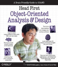 Head First Object-Oriented Analysis and Design: A Brain Friendly Guide to Ooa&d-cover