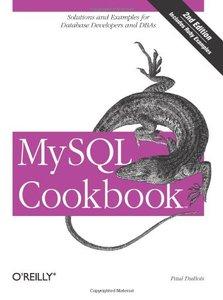 MySQL Cookbook, 2/e (Paperback)-cover