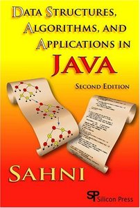 Data Structures, Algorithms, And Applications In Java, 2/e (Paperback)-cover