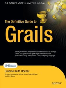 The Definitive Guide to Grails (Paperback)-cover