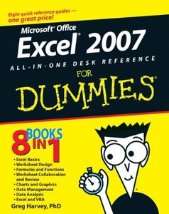 Excel 2007 All-In-One Desk Reference For Dummies-cover