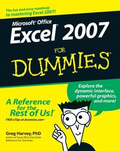 Excel 2007 For Dummies-cover