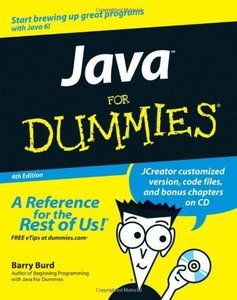 Java For Dummies, 4/e (Paperback)-cover
