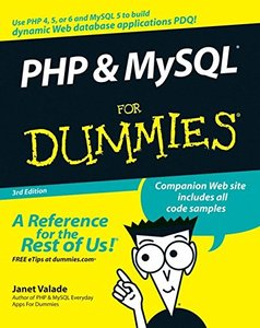 PHP & MySQL For Dummies, 3/e (Paperback)-cover