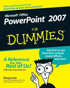 PowerPoint 2007 For Dummies-cover