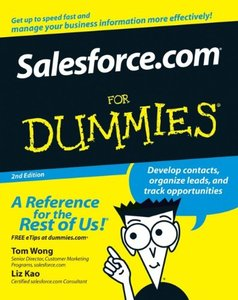 Salesforce.com For Dummies, 2/e (Paperback)-cover