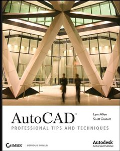AutoCAD: Professional Tips and Techniques (Paperback)-cover