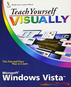Teach Yourself VISUALLY Windows Vista (Paperback)-cover