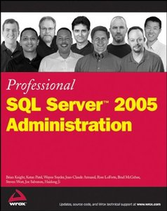 Professional SQL Server 2005 Administration-cover