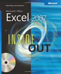 Microsoft Office Excel 2007 Inside Out (Paperback)-cover