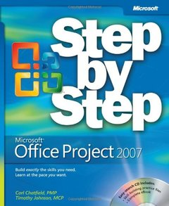 Microsoft Office Project 2007 Step by Step-cover