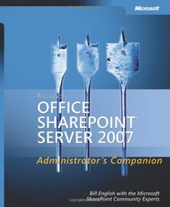 Microsoft Office SharePoint Server 2007 Administrator's Companion (Hardcover)-cover