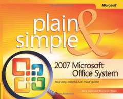 2007 Microsoft  Office System Plain & Simple (Paperback)-cover