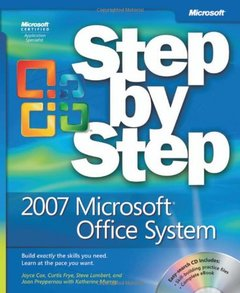 The 2007 Microsoft  Office System Step by Step (Paperback)-cover