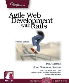 Agile Web Development with Rails, 2/e-cover