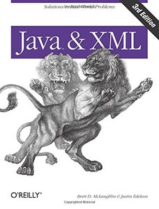 Java and XML, 3/e (Paperback)-cover